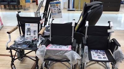 東武百貨店 池袋店 8階 イキイキクラブ店内